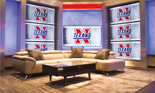 TV Studio at Northwest High School / part of CMP academy